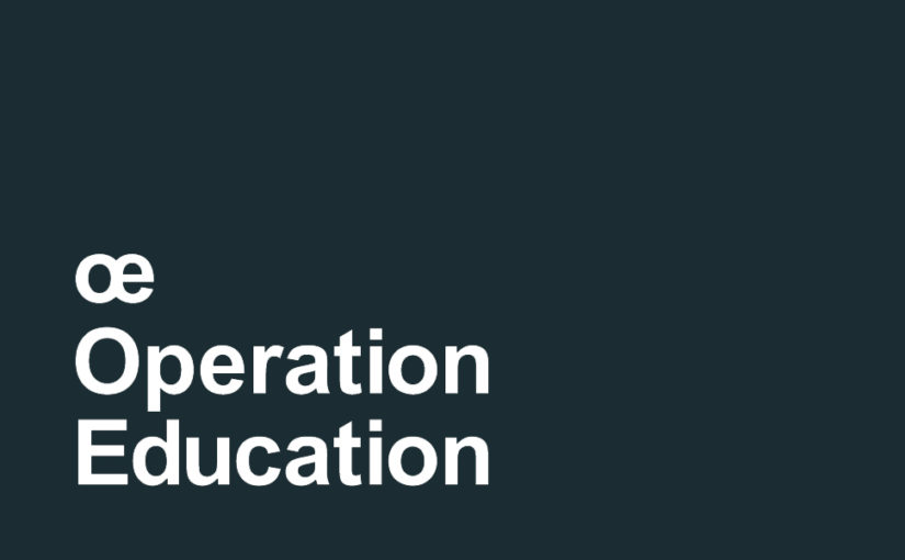 œ Operation Education